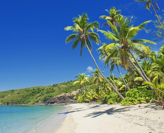 Fiji is seen as particularly vulnerable to climate change, with some of its 300 low-lying islands susceptible to rising seas. Photo: Getty Images