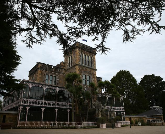 Larnach Castle required no fewer than 200 men working three years to complete the external shell...