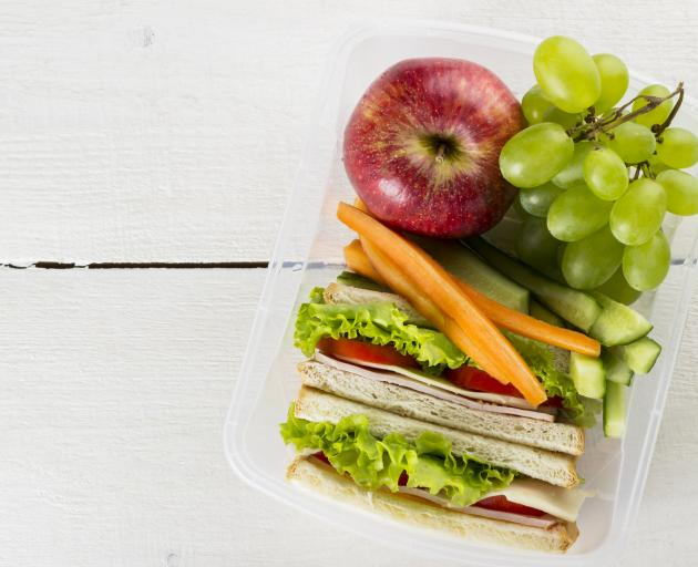 Children need to be familiarised with the taste of fruit and vegetables from a young age. Photo:...