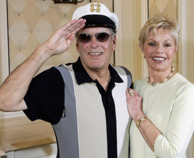 'Captain' Daryl Dragon with Toni Tennille. Photo: Getty Images