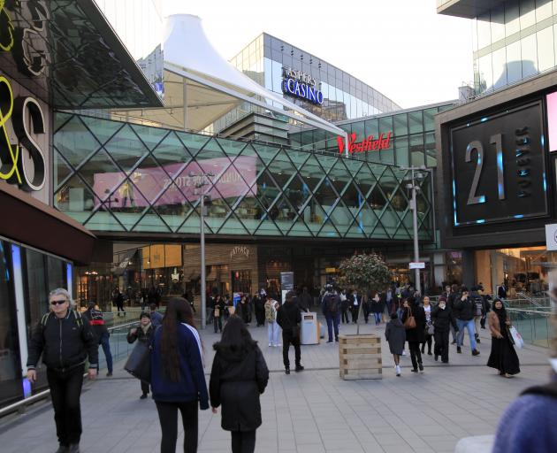 The shopping centre in Stratford. Photo: Getty Images