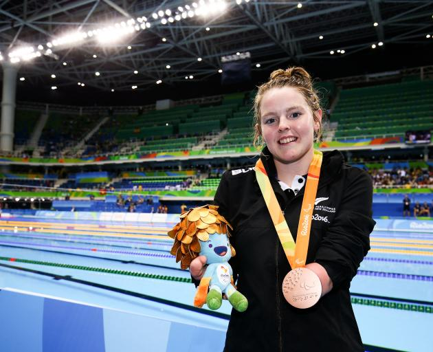 Nikita Howarth won bronze in the 50m butterfly. Photo: Getty Images