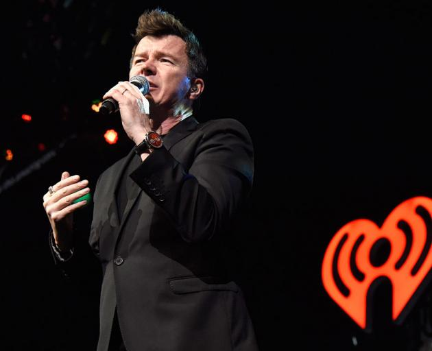 Never gonna give you up, Rick Astley. Photo: Getty Images