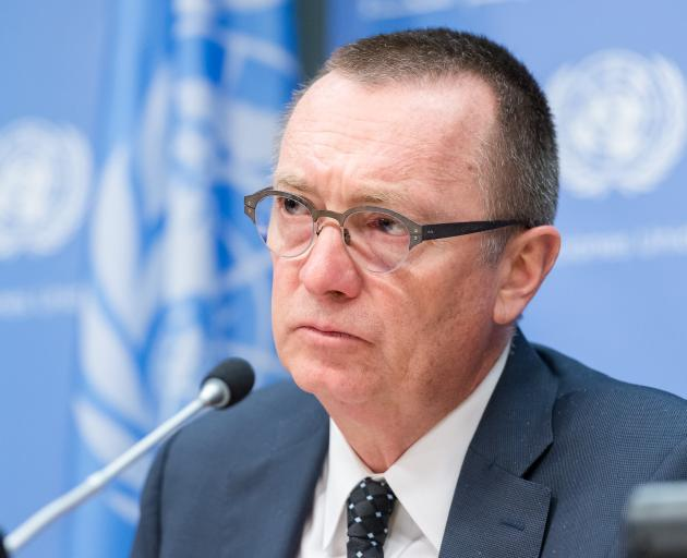 Jeffrey Feltman is the highest-level UN official to visit North Korea since 2012. Photo: Getty Images