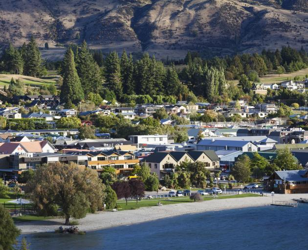 Tourism is focused foremost on Queenstown, with Wanaka (pictured) also surging. Photo: Getty Images