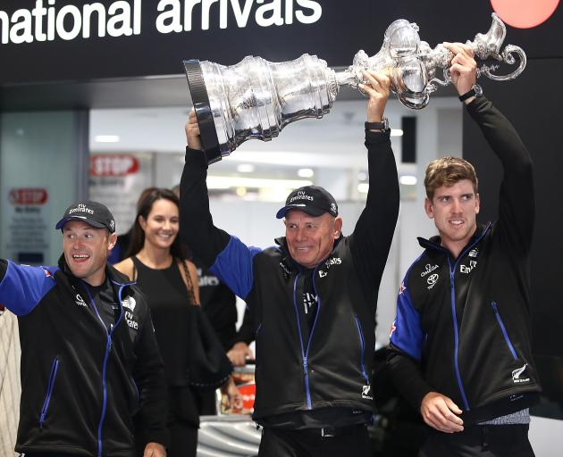 America's Cup is home: Fans turn out to welcome Team NZ