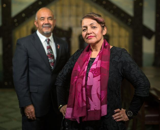 Maori Party co-leaders Te Ururoa Flavell and Marama Fox are out of Parliament. Photo: Getty Images