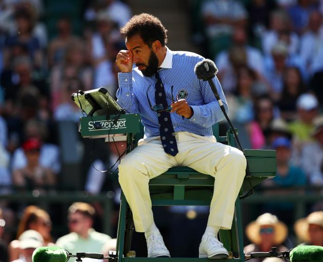 Flying ant invasion bugs Wimbledon players