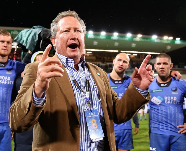 Andrew Forrest said the Force would live on in his new tournament, which he claimed would...