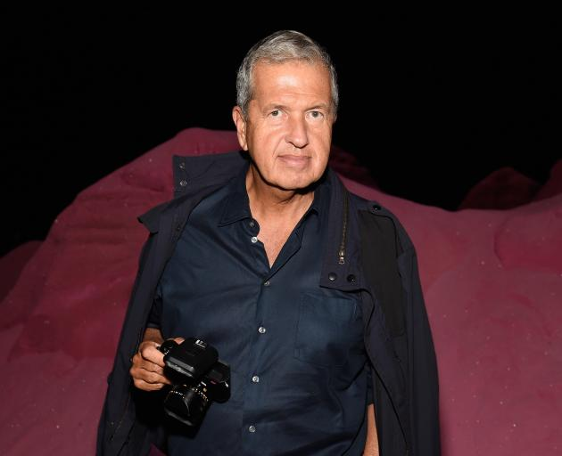 Mario Testino has worked for fashion brands including Michael Kors, Burberry and Dolce & Gabbana....