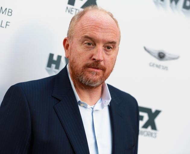 Louis C.K. at an Emmy party earlier this year. Photo: Getty Images