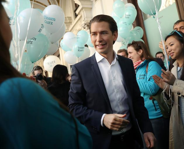 Foreign Minister Sebastian Kurz. Photo: Getty Images