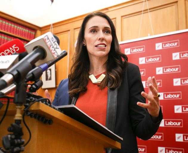 Labour leader and prime minister-elect Jacinda Ardern. Photo: Getty Images