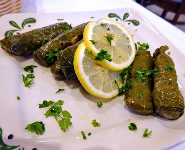 Dolmades are a favourite. PHOTO: GETTY IMAGES