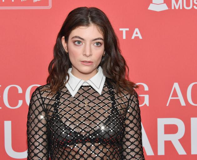 Lorde has cancelled her June concert in Tel Aviv. Photo: Getty Images