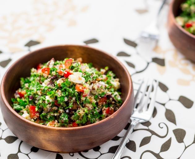 Tabbouleh.  PHOTO: GETTY IMAGES