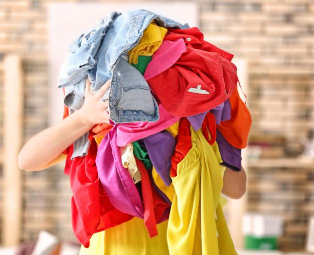 An estimated 92 million tonnes of clothing thrown out every year in Australia. Photo: Getty Images