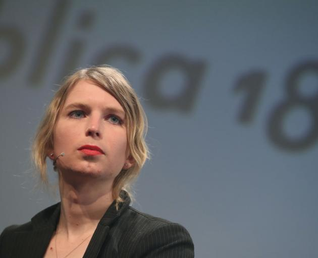 Whistle blower and activist Chelsea Manning. Photo: Getty Images