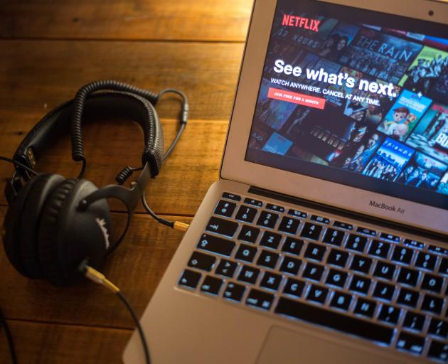Netflix is spending three times more on content than it receives through its subscriber base....
