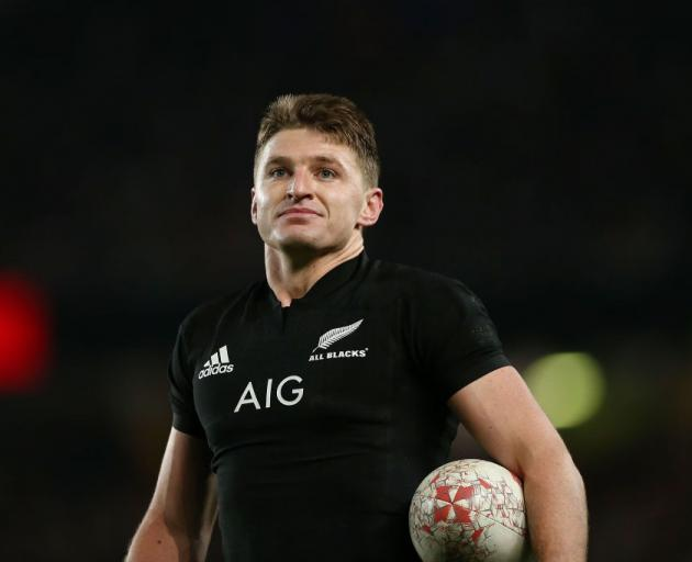 Beauden Barrett has proven ability at test level, says Steve Hansen. Photo: Getty Images