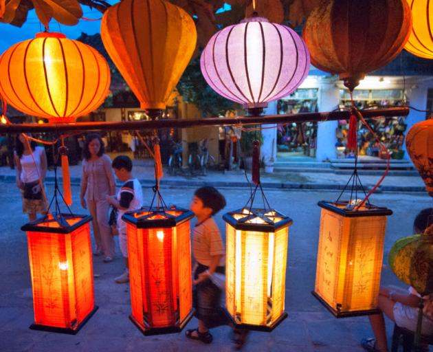 Traditional silk lanterns in Hoi An. Photo: Getty Images