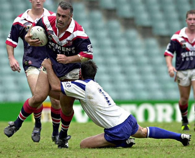 Pongia playing for the Roosters. Photo: Getty Images
