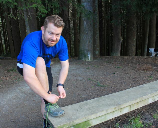 Glen Riley is preparing to run the Dunedin Half Marathon on Sunday to raise awareness of strokes....