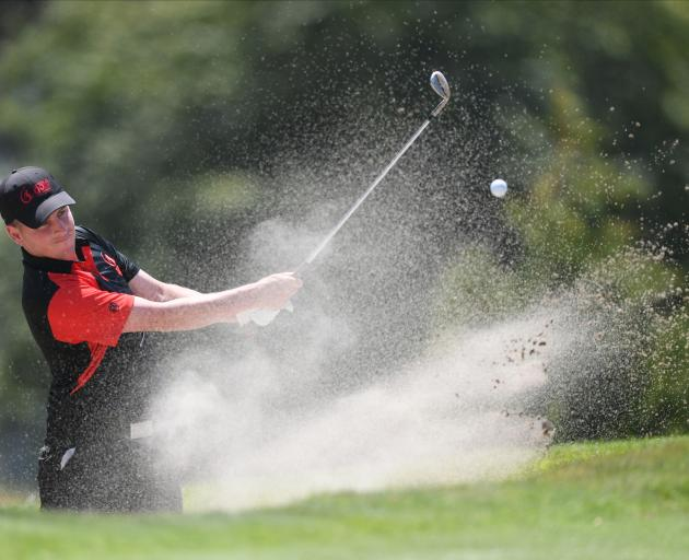 Harewood's Matt McLean is among the favourites at the Canterbury Strokeplay. Photo: Supplied