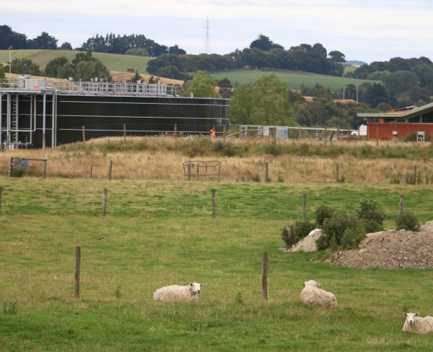 The Gore sewage treatment site. Photo: Sandy Eggleston