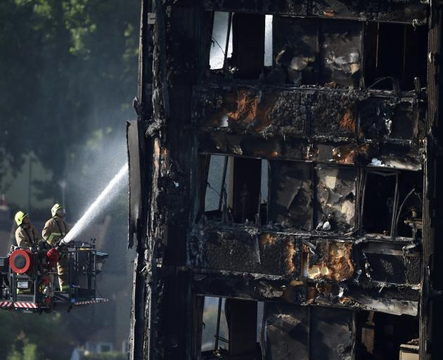 The fire prompted soul-searching about how the densely populated social housing block in west...