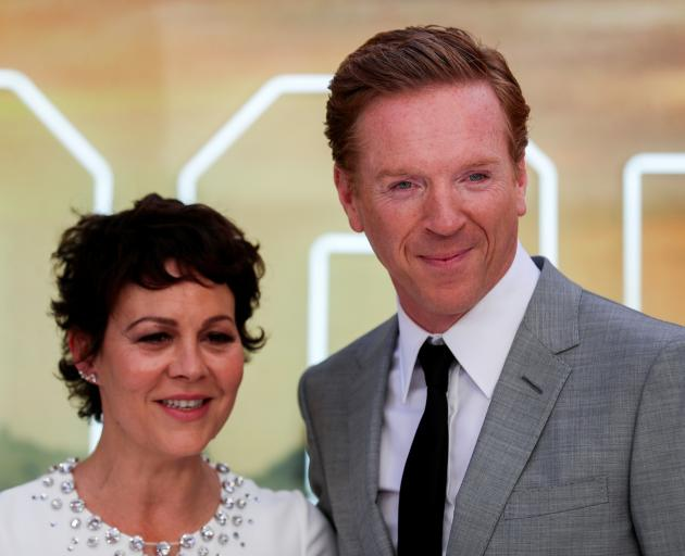 Helen McCrory with husband Damian Lewis. Photo: Reuters