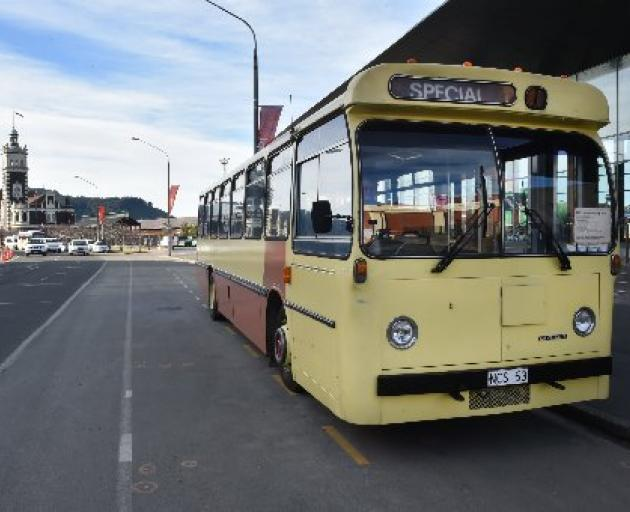 The Otago Heritage Bus Society will only be running the St Clair to Normanby Christmas Day...