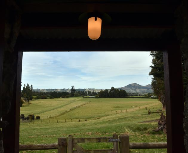The view from the front door. The area was originally known as Stewart's Gully after the home's...