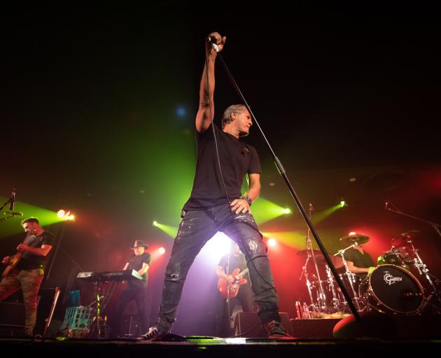 Jon Stevens will be performing songs from Noiseworks and INXS at Selwyn Sounds on March 6. Photo:...