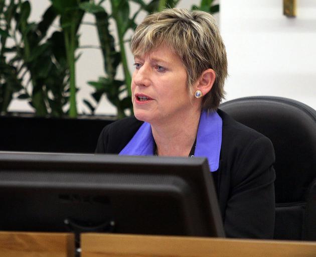 Lianne Dalziel became mayor in 2013. Photo: Geoff Sloan