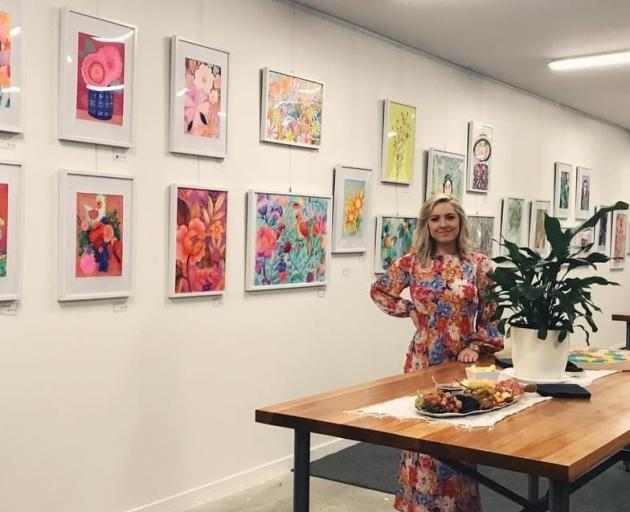 Eleanor Grimshaw's exhibition at The Rock runs until the end of August. Photo: Supplied