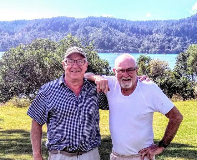 Dave Cannan and John McCombe. Photo: Supplied