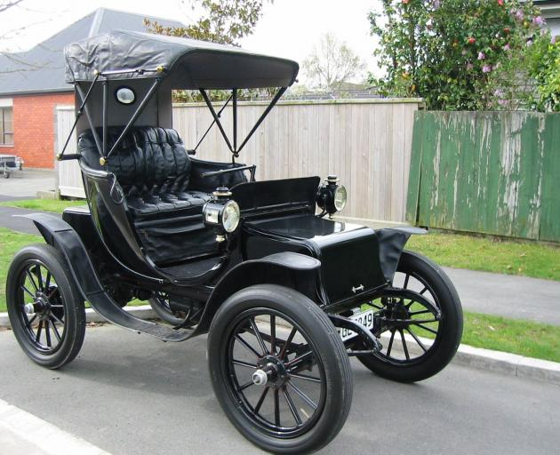 Neville Digby's 1904 Baker Electric, one of only six left in the world. Photo: NEVILLE DIGBY