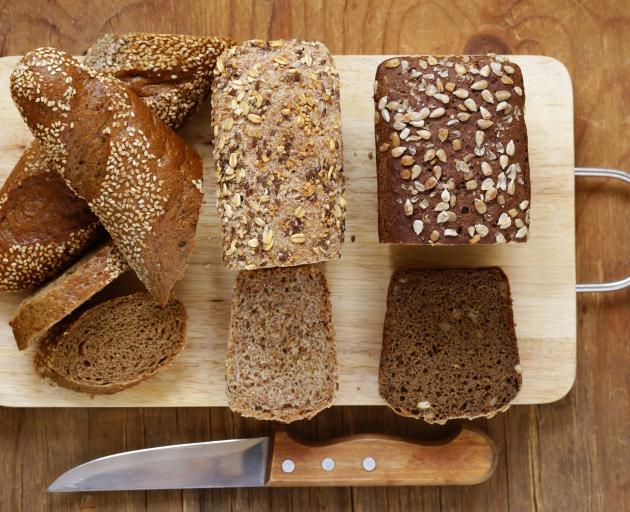 使用全谷物的面包是最好的。照片:Getty Images