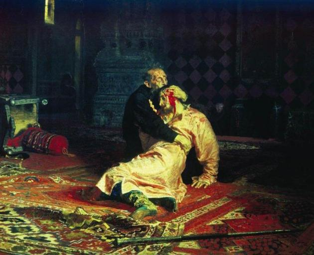 The painting is housed in the State Tretyakov Gallery. Image: Wikiart