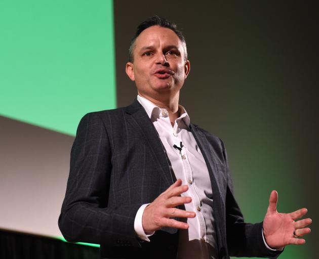 Green Party co-leader James Shaw. Photo: Gregor Richardson