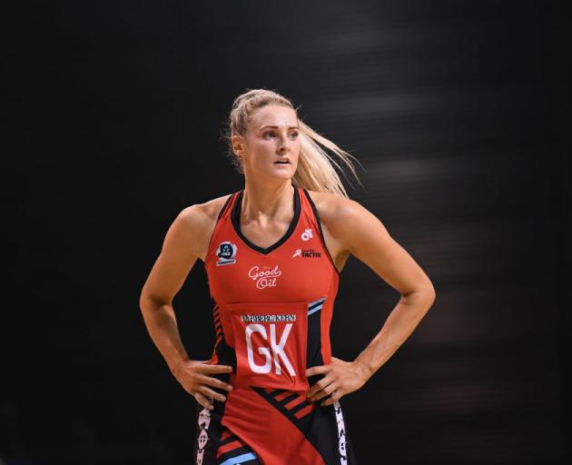 Jane Watson of the Mainland Tactix. Photo: Getty Images