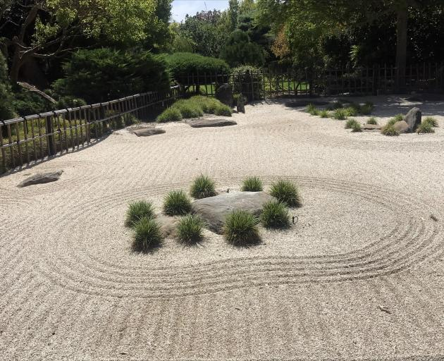 The kare senzui section of Adeaide's Himeji Garden is of the classical Zen format.