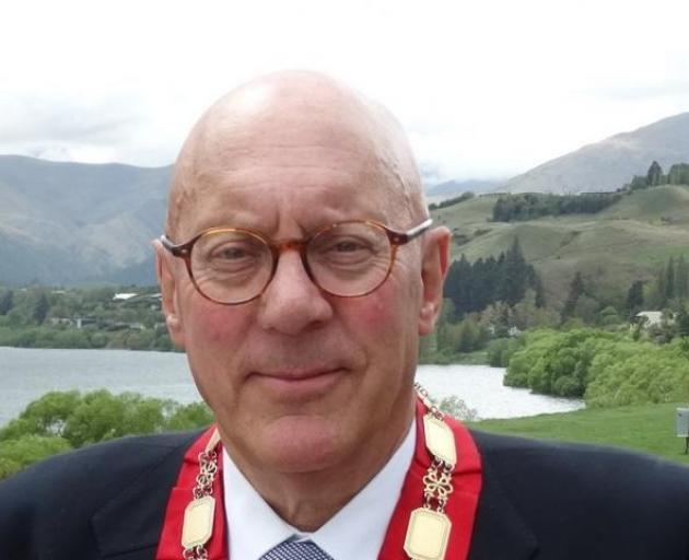 "Queenstown Mayor Jim Boult. ""The whole of New Zealand is going through a lot of pain and..."