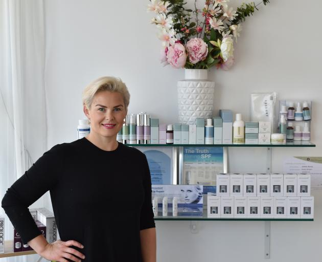 Jemma Moran finds her job as a beauty therapist very rewarding. PHOTO: GREGOR RICHARDSON