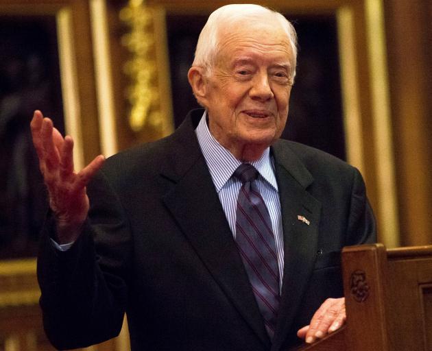 Jimmy Carter. Photo: Reuters