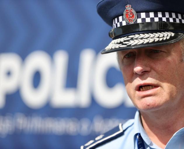 Canterbury District Commander Superintendent John Price. Photo: George Heard/NZ Herald