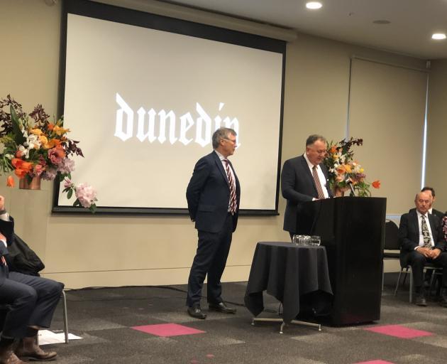 Regional Economic Development Minister Shane Jones makes a Provincial Growth Fund announcement...
