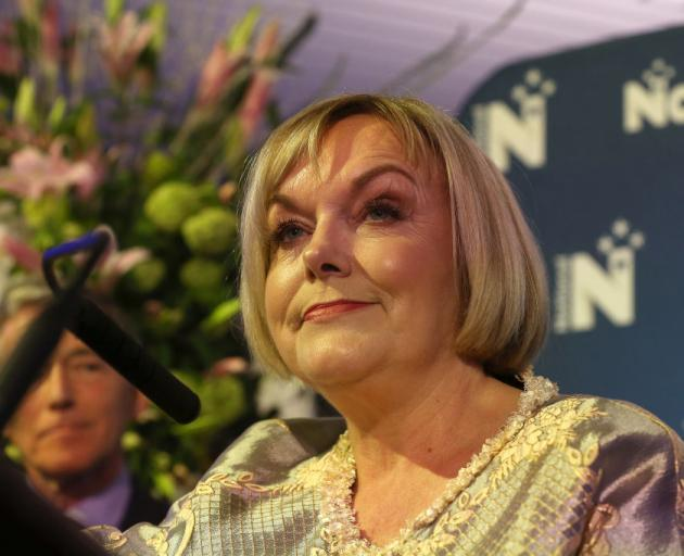 National leader Judith Collins concedes defeat. Photo: Getty Images