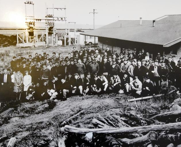 This photo of employees at the Lockington Mine, Kaitangata, was taken at the end of April, 1968,...